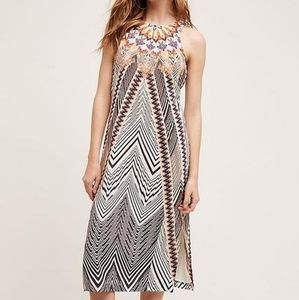 HD in Paris Solstice 12 100% Silk Aztec Midi